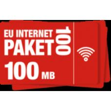 Сим карта OrtelMobile тариф 7 дней в Европе 100 мб
