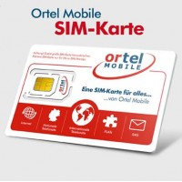 Сим карта Ortel Mobile Германия